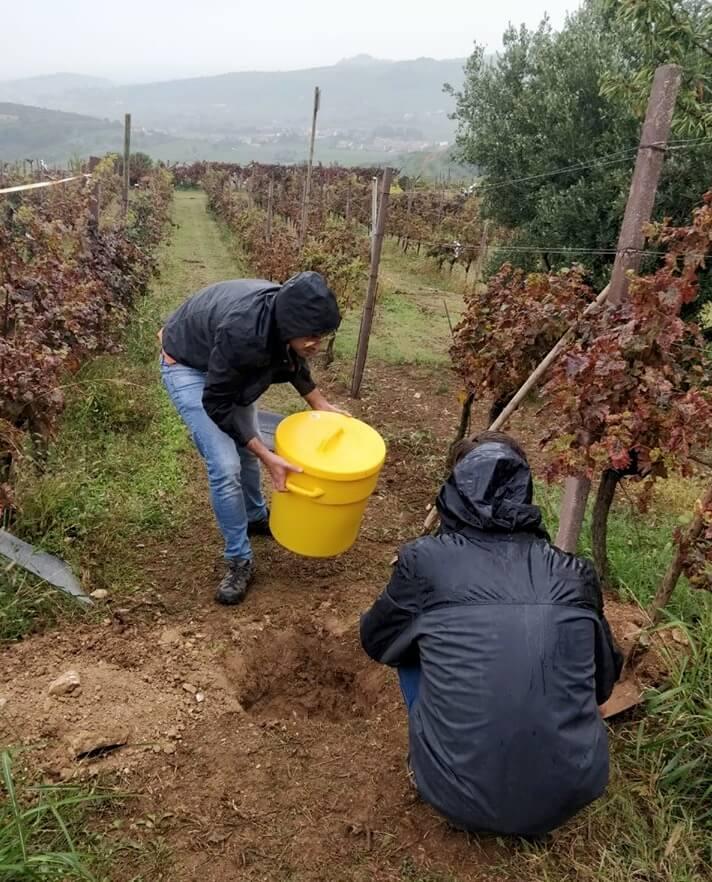 Misurazione deflusso acque meteoriche in campo