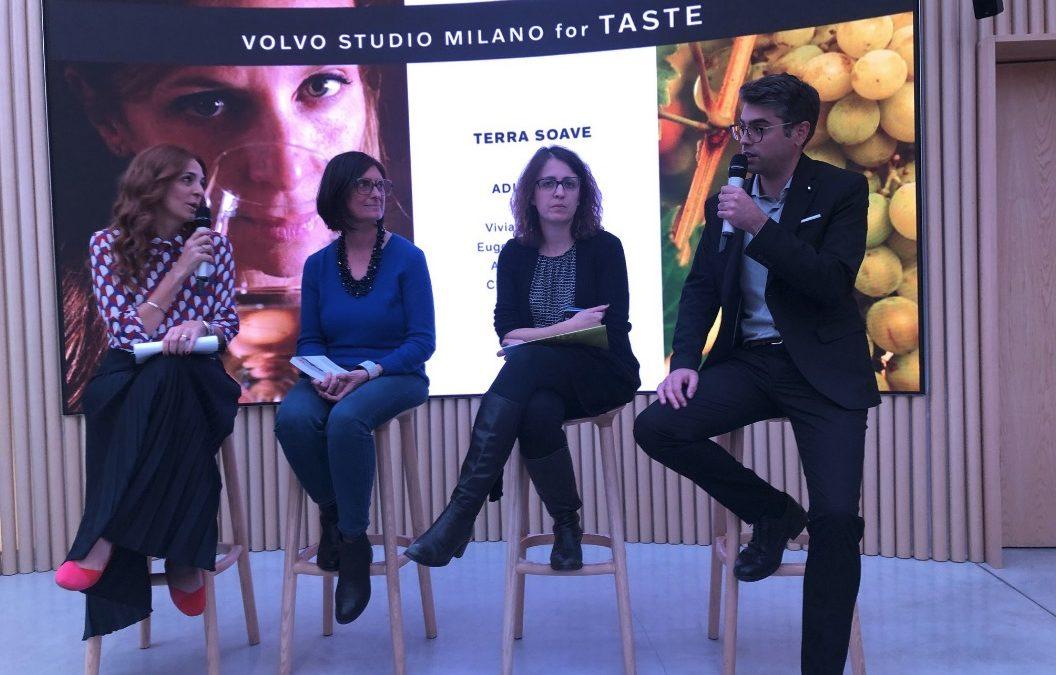 Volvo Studio Milano vino Soave e progetti