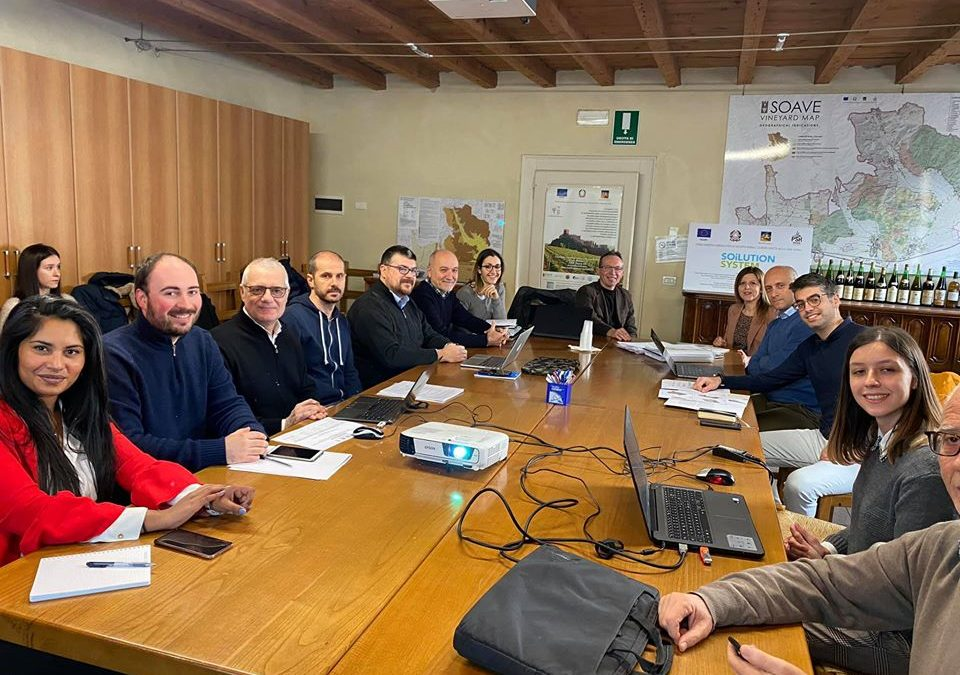 Riunione partner progetto Soilution febbraio