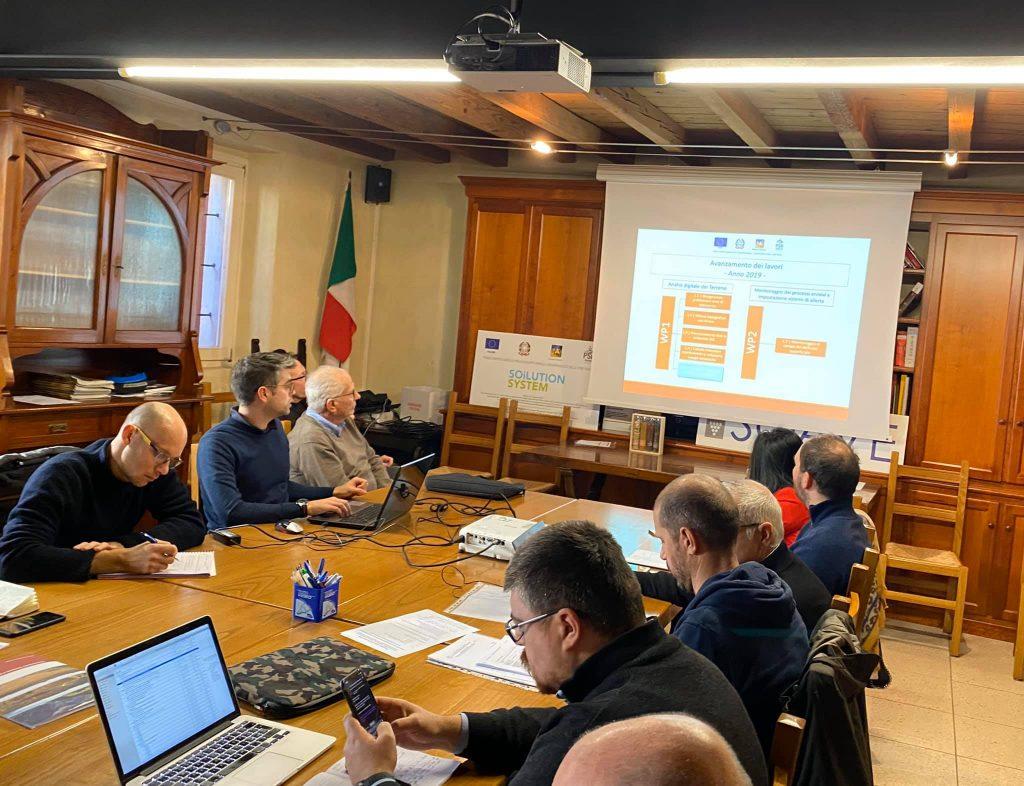 presentazione progetti dei partner Soilution System