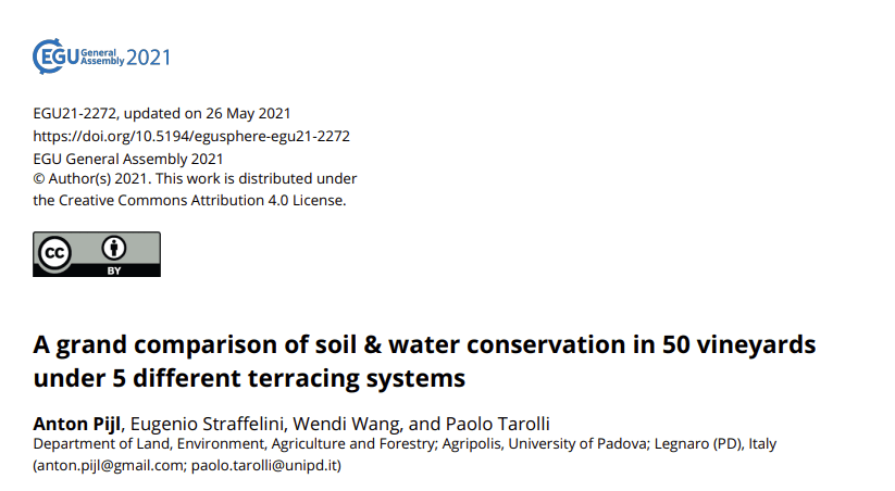A grand comparison of soil and water conservation