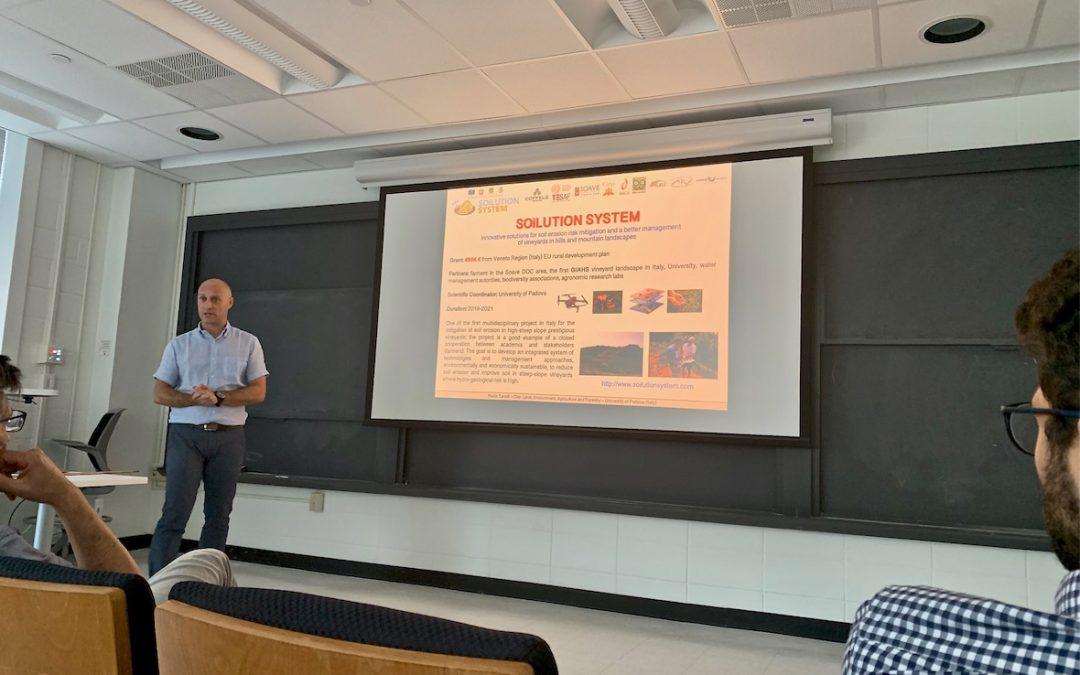 Soilution System ospite alla Princeton University