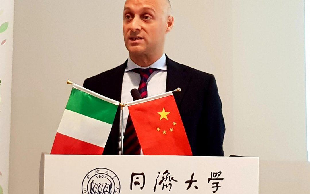 Presentazione del progetto SOiLUTION SYSTEM alla Tongji University di Shanghai (Cina)
