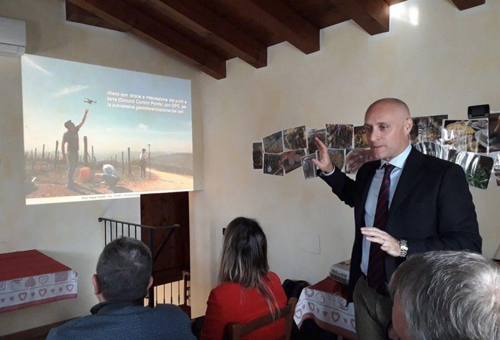 Paolo Tarolli incontro Soilution giornalisti