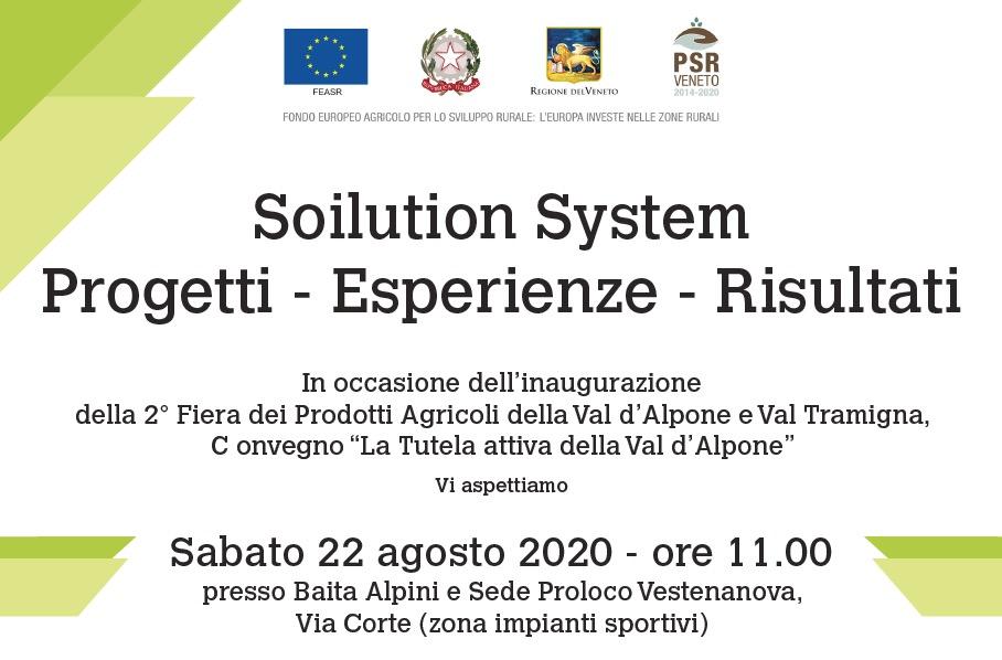Soilution System: Progetti – Esperienze – Risultati